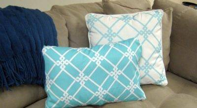 Sew Pillow Covers Houses Plans Designs