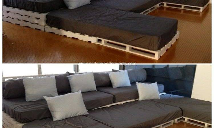 Shaped Pallet Sofa Ideas Wood Projects