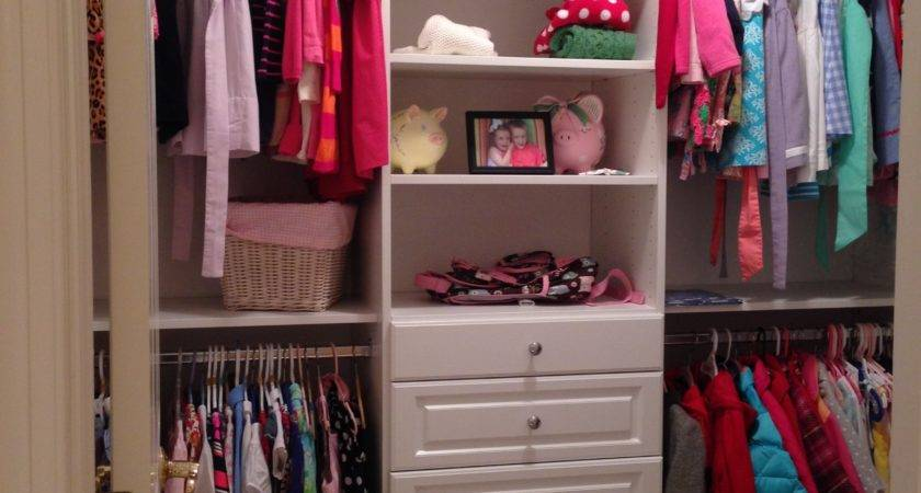Shaped White Clothes Closet Design Ideas Under Ceiling