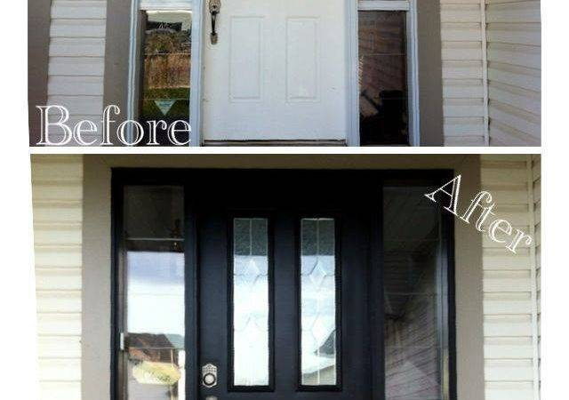 She Purposed Paint Your Garage Front Door
