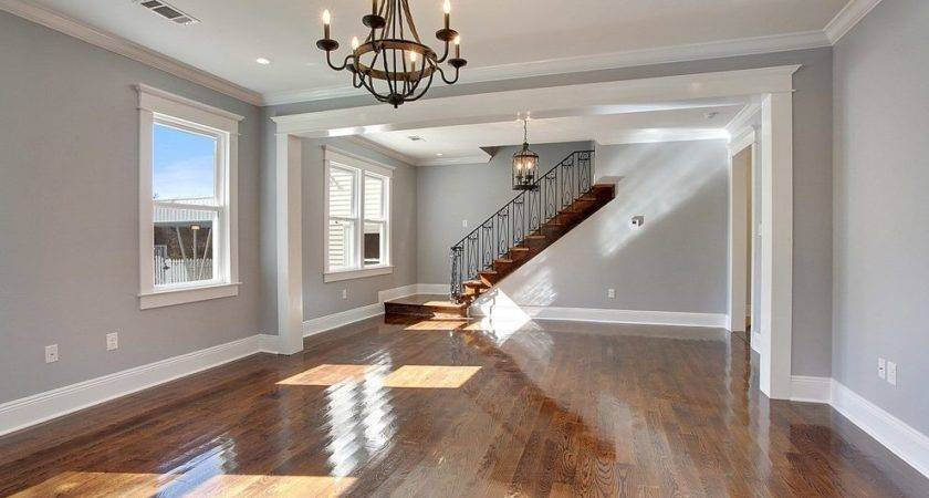 Sherwin Williams Lazy Gray Bedroom Traditional Built