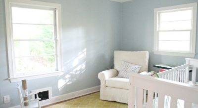 Sherwin Williams Nursery Colors Grasscloth