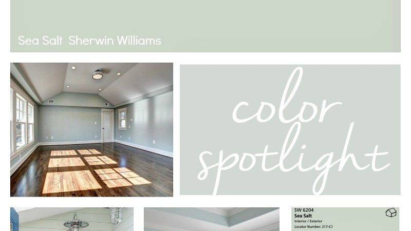 Sherwin Williams Sea Salt Coordinating Colors