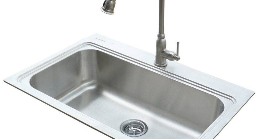 Shop American Standard Silver Single Basin
