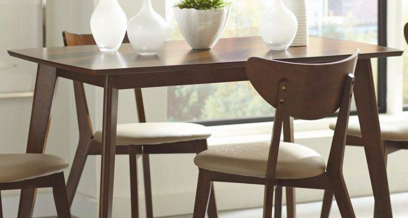 Shop Coaster Fine Furniture Kersey Wood Dining Table