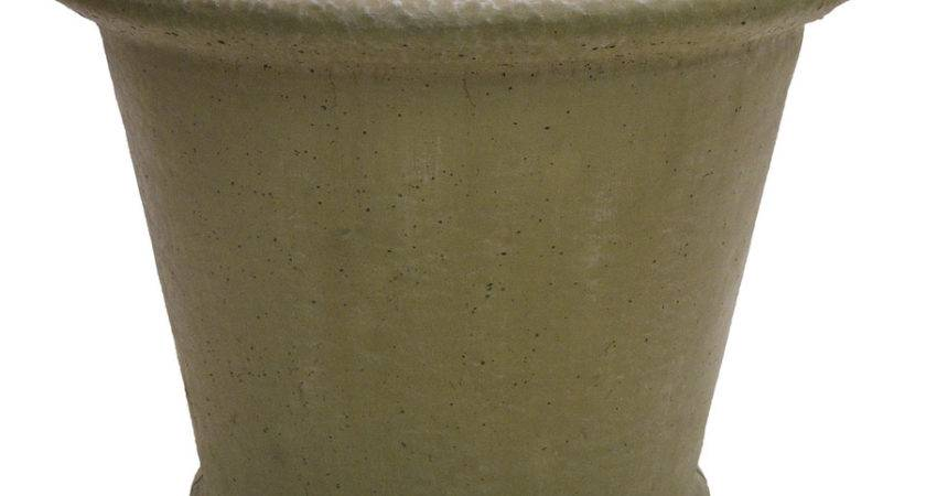 Shop Desert Sand Concrete Planter Lowes