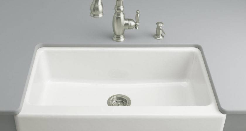 Shop Kohler Dickinson White Single Basin
