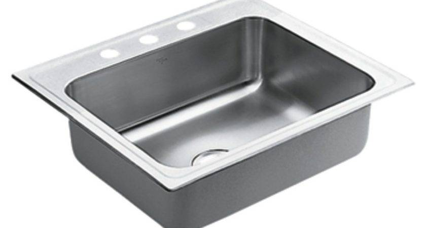 Shop Moen Commercial Stainless Steel Single