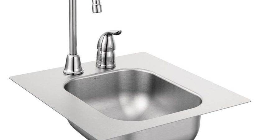 Shop Moen Series Single Basin Stainless Steel Drop