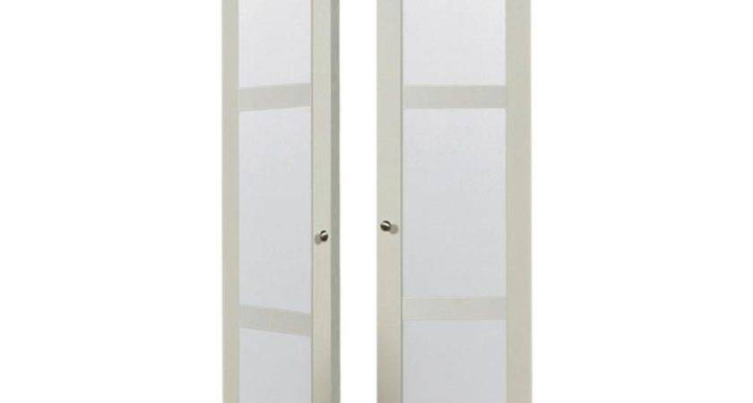 Shop Reliabilt Off White Lite Frosted Glass Pivot