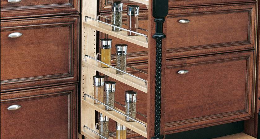 Shop Rev Shelf Tier Mounted Wood Spice