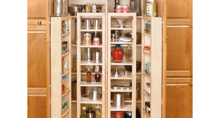 Shop Rev Shelf Wood Swing Out Pantry Kit Lowes