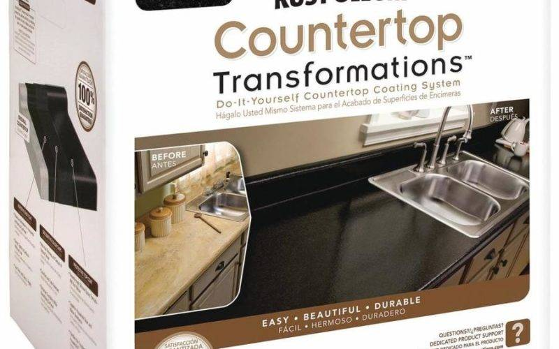 Shop Rust Oleum Countertop Transformations Onyx Semi Gloss
