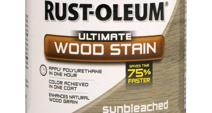 Shop Rust Oleum Sunbleached Wood Stain Lowes