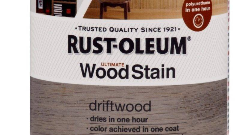 Shop Rust Oleum Ultimate Driftwood Interior Stain Actual