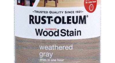 Shop Rust Oleum Ultimate Wood Stain Quart Weathered Gray