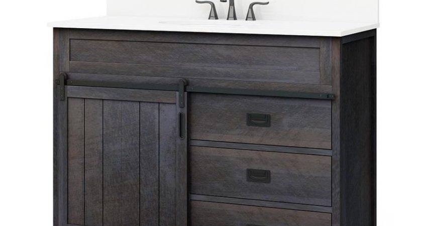Shop Style Selections Morriston Distressed Java Undermount