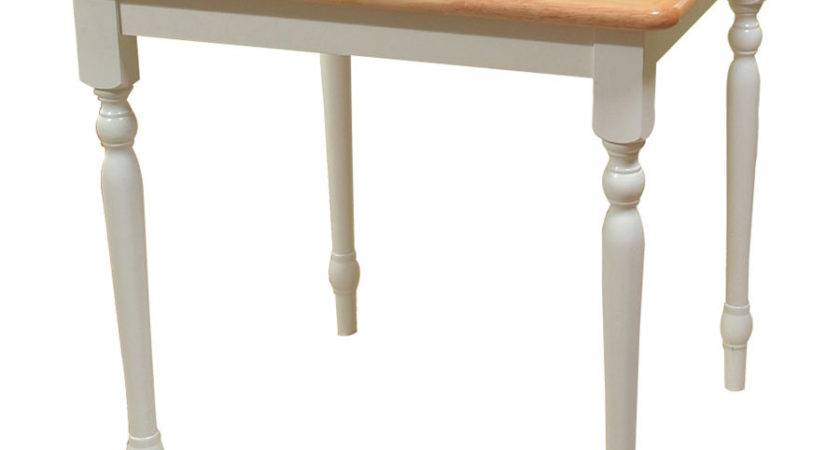 Shop Tms Furniture White Square Dining Table Lowes