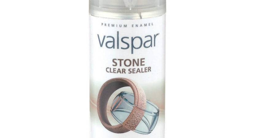 Shop Valspar Stone Clear Spray Paint Lowes