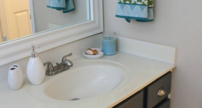 Simple Bathroom Vanities Painted Chalk Paint