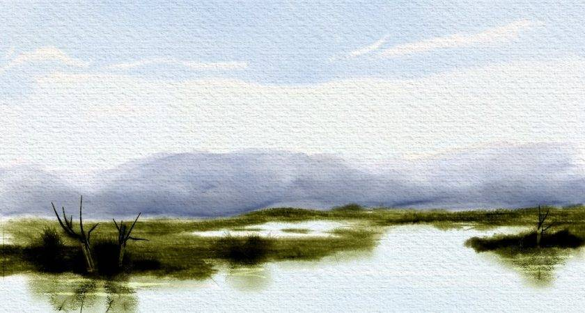 Simple Landscape Final Skip Allen Paints