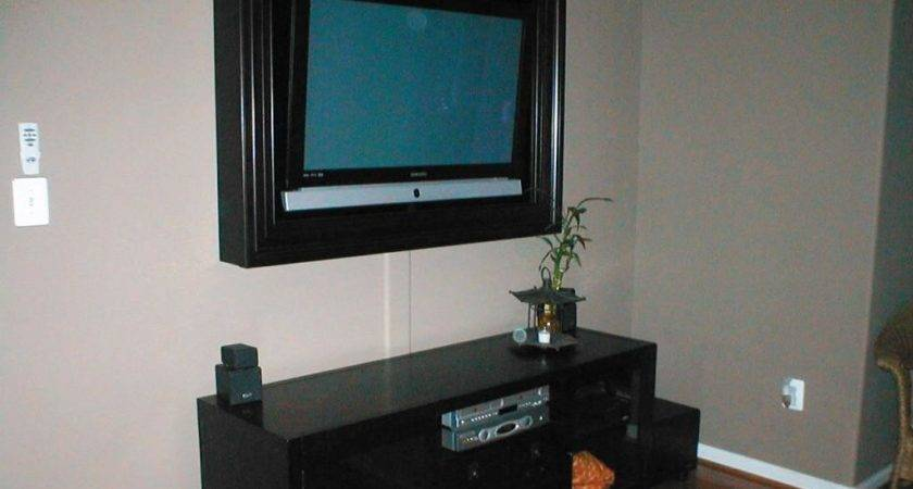 Simple Living Room Decoration Ideas Cable Hider Wall