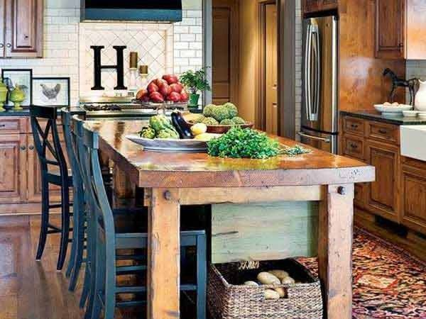 Simple Rustic Homemade Kitchen Islands Amazing Diy