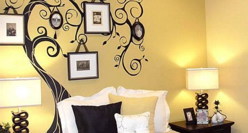 Simple Wall Painting Designs Bedroom Home Combo