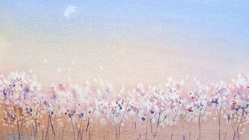 Simple Watercolor Paintings Beginner Artists