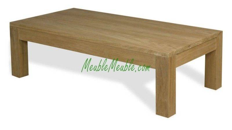 Simple Wood Coffee Table Home Design
