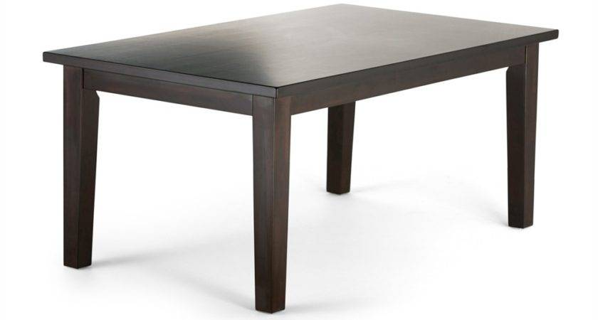 Simpli Home Axcdnt Eastwood Rectangle Dining Table