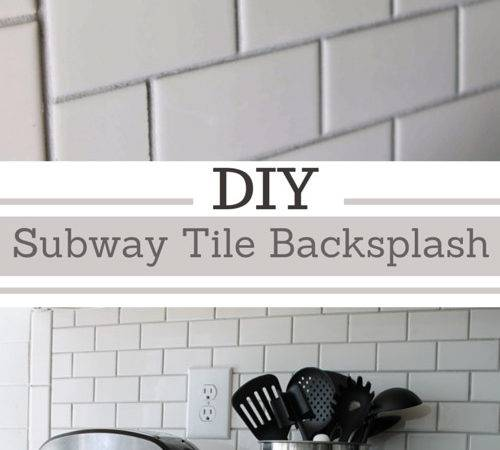 Simply Beautiful Angela Diy Subway Tile Backsplash
