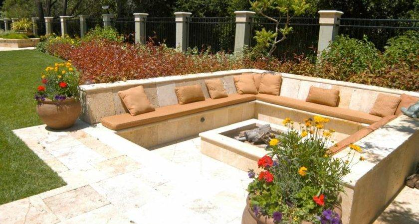 Sitting Area Around Fire Pits Lomets
