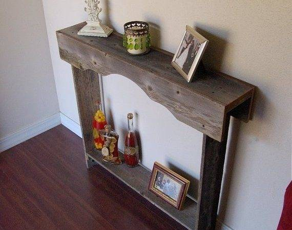 Skinny Console Table Small Rustic Furniture