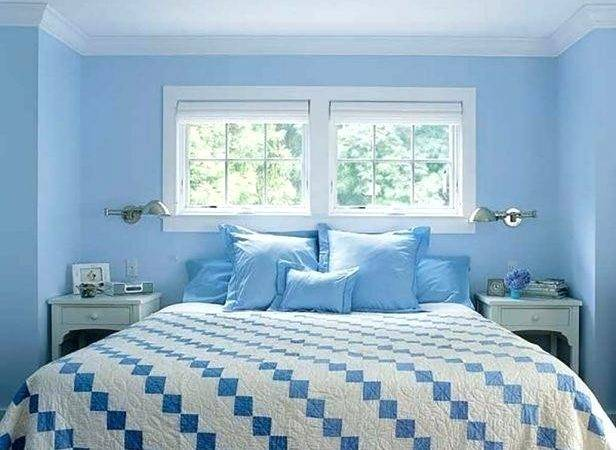 Sky Blue Paint Bedroom Popular Light Colors