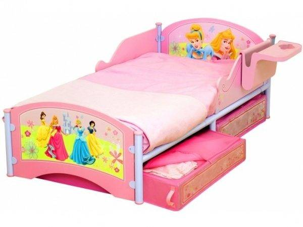 Slide Beds Toddlers Girl Bunk Buttons Bows