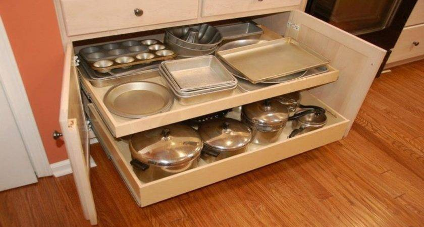 Slide Out Drawers Kitchen Cabinets