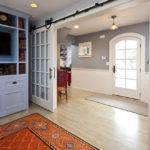 Sliding French Doors Interior Living Room Traditional