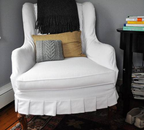 Slipcover Chair House Decorating