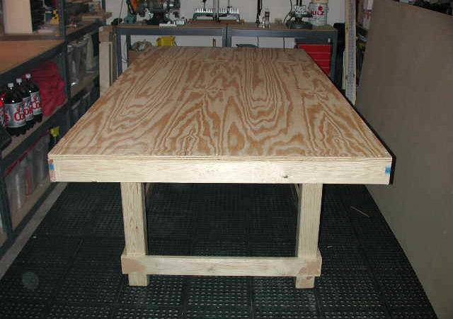Slot Car Racing Track Table Construction