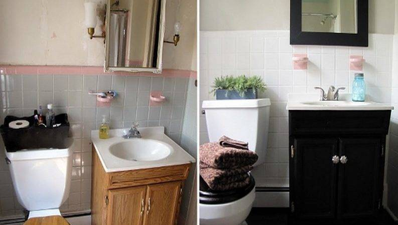 Small Bathroom Makeovers Tips Home Inspiring