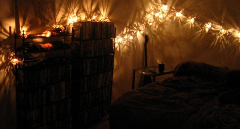 Small Bedroom Lighting Ideas Hanging String Twinkle