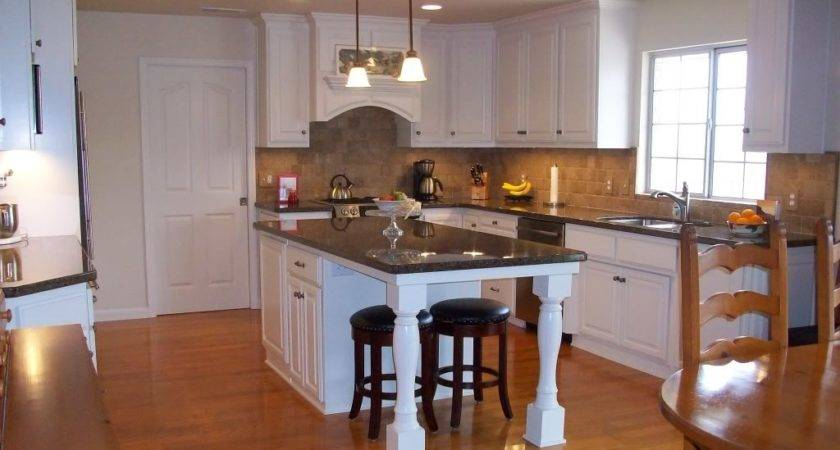 Small Kitchen Island Seating End