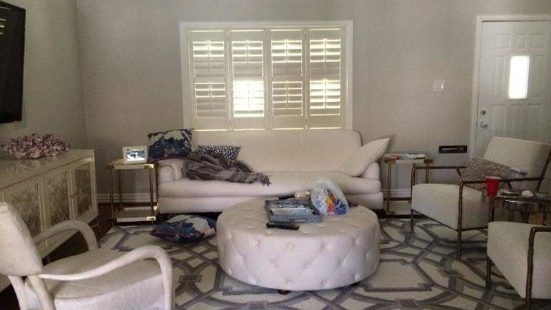 Small Living Room Makeover Before After Modern House