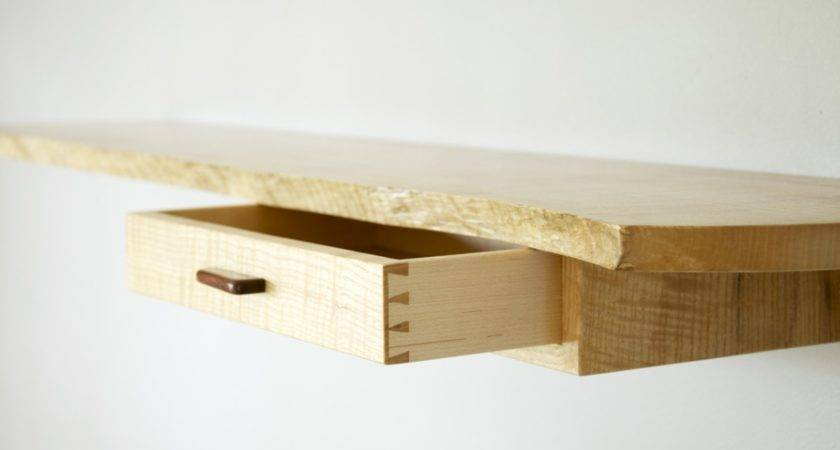 Small Wall Shelf Drawer