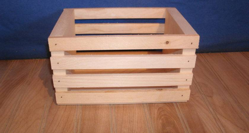 Small Wooden Crates Storage Crate Ebay