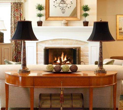 Sofa Table Decor Home Design Ideas Remodel