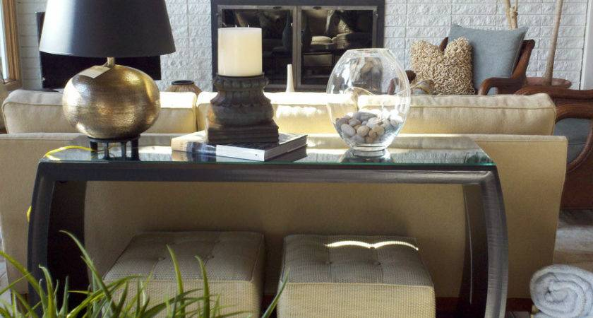 Sofa Table Decor Ideas Photos Houzz