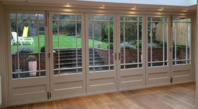 Solid Wood Bifold Doors Wooden Fold Enfield