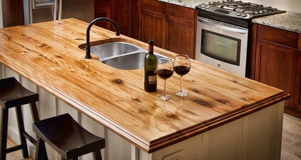 Solid Wood Countertops Unique Feature Your Kitchen
